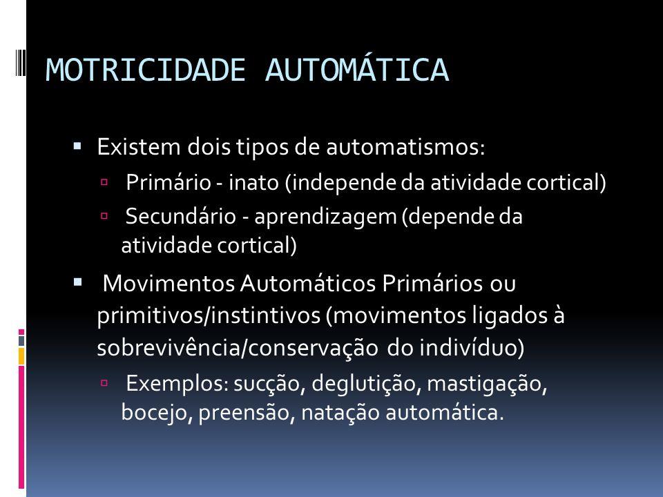 MOTRICIDADE AUTOMÁTICA