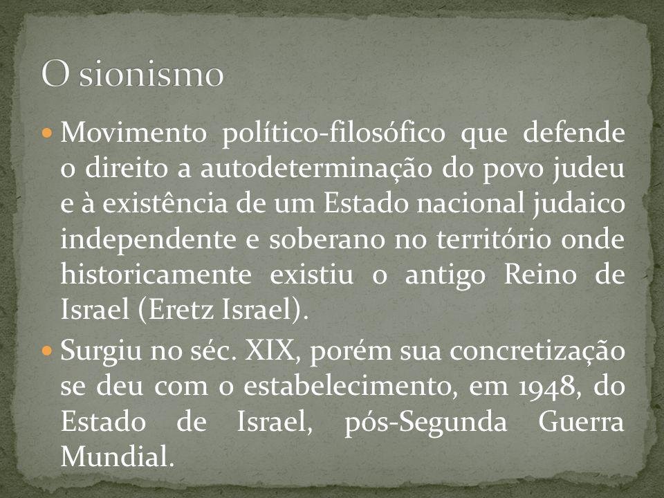 O sionismo