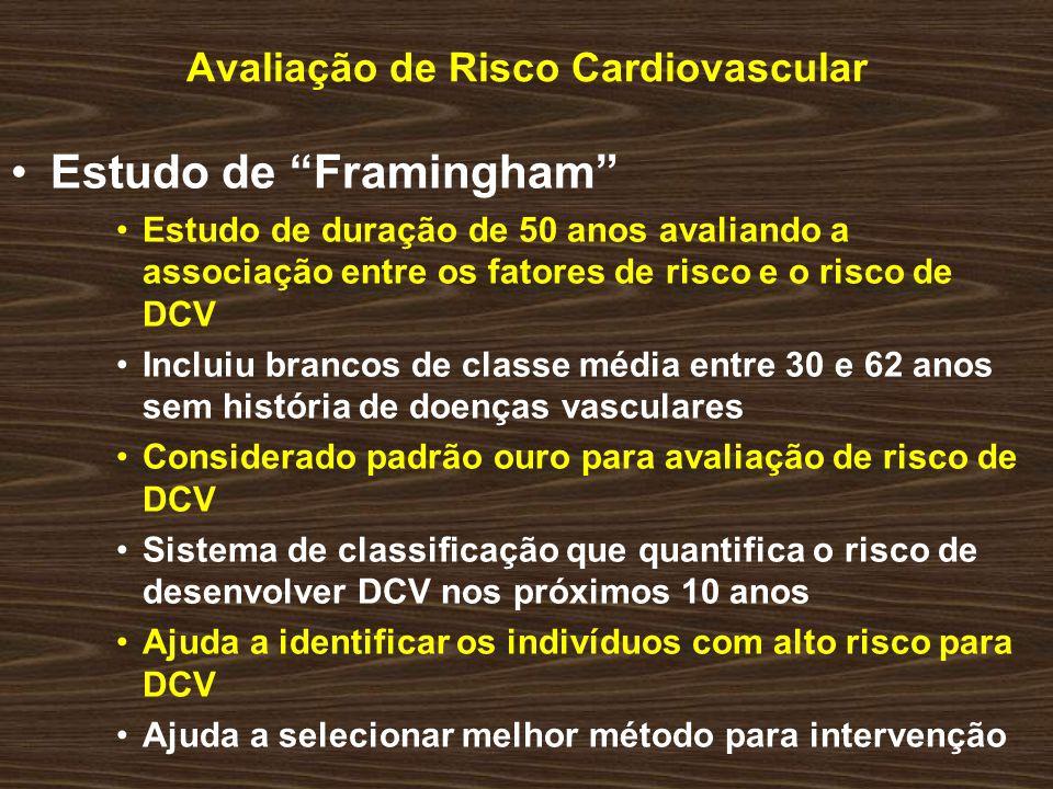 Avaliação de Risco Cardiovascular