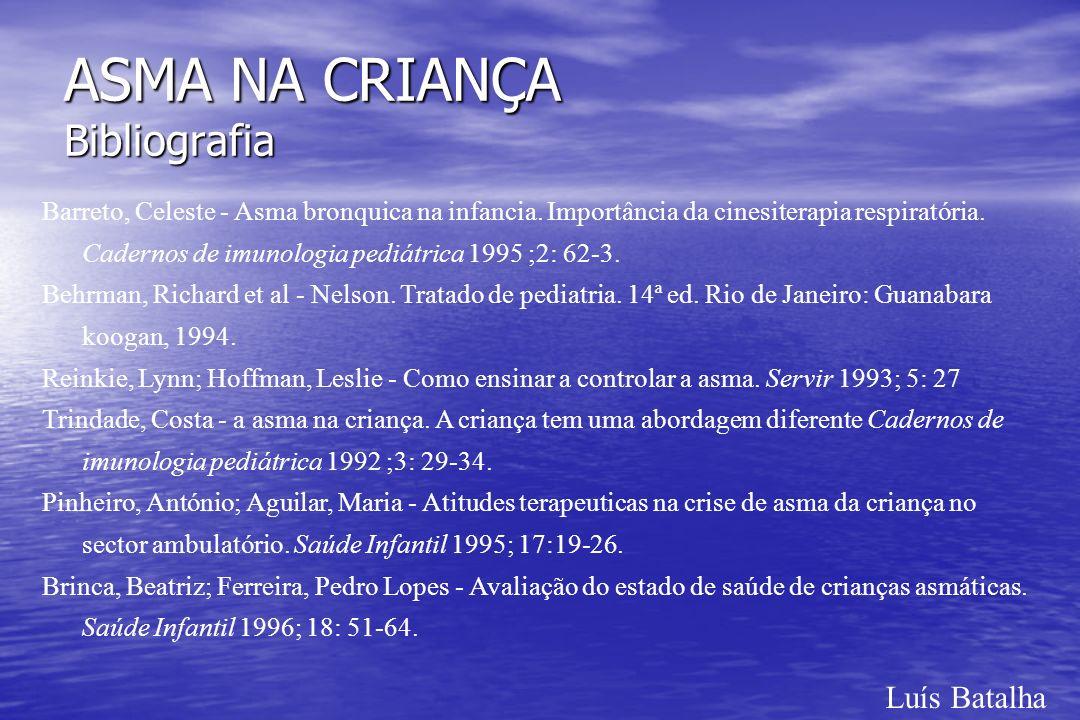 ASMA NA CRIANÇA Bibliografia