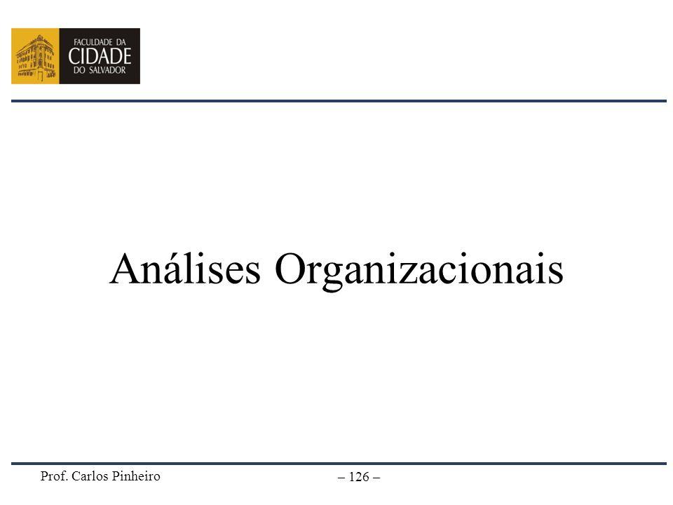 Análises Organizacionais