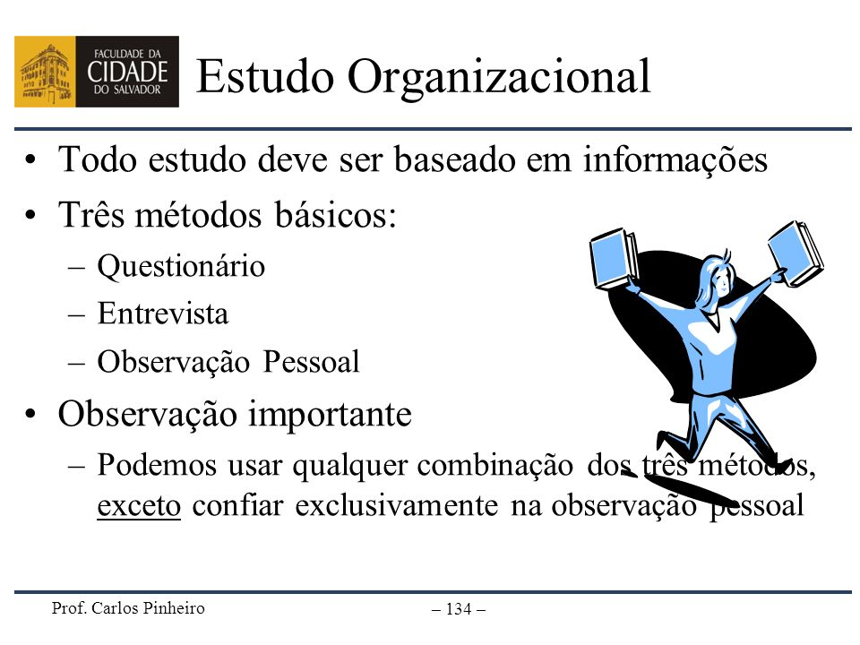 Estudo Organizacional
