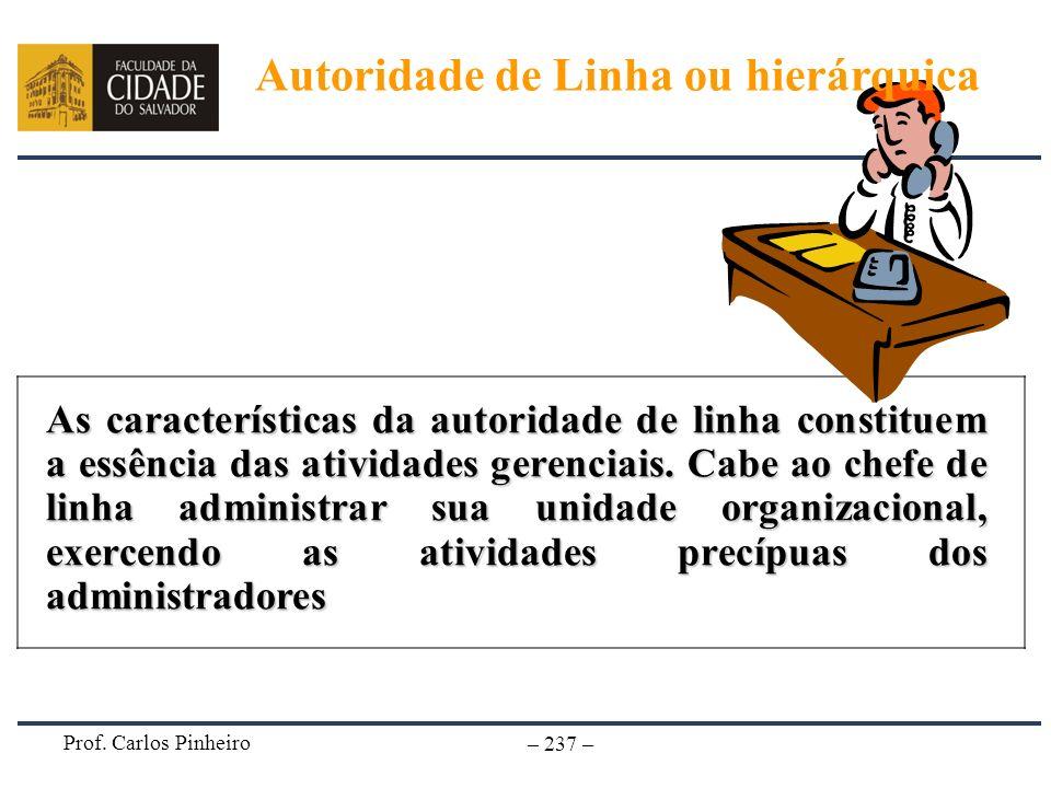 Autoridade de Linha ou hierárquica