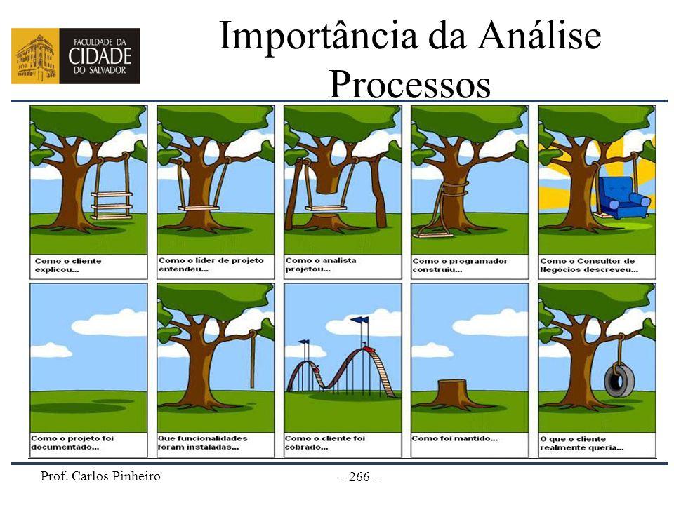 Importância da Análise Processos