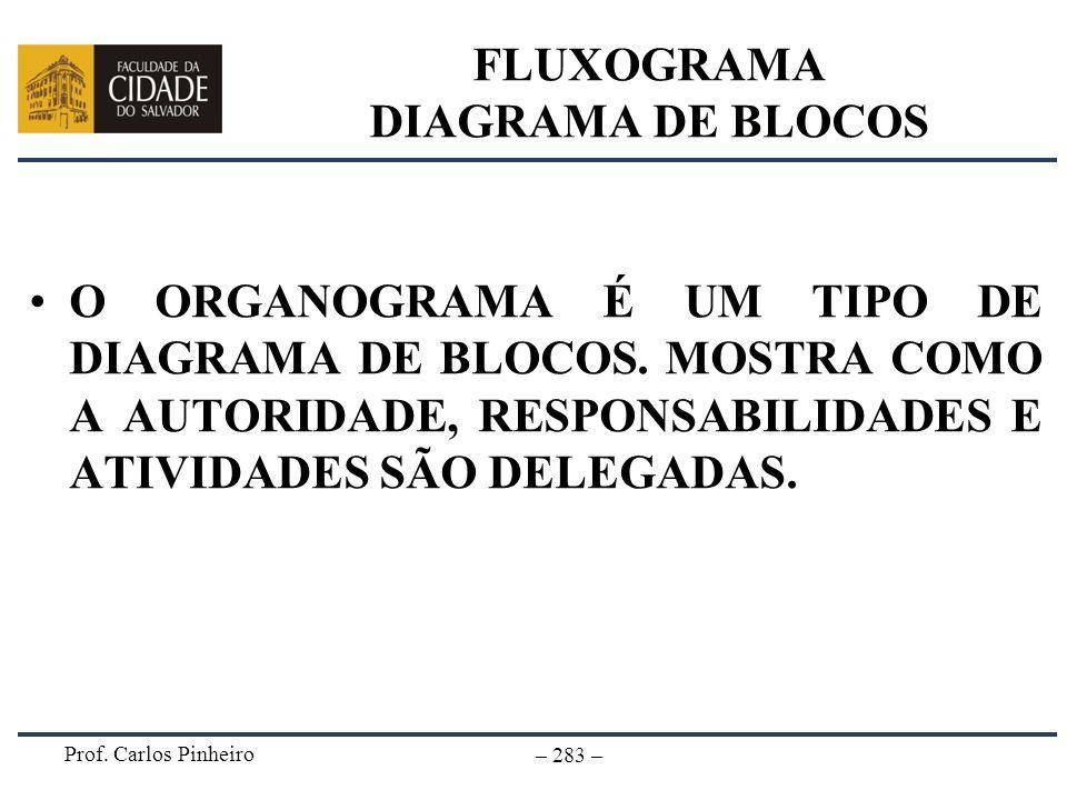 FLUXOGRAMA DIAGRAMA DE BLOCOS