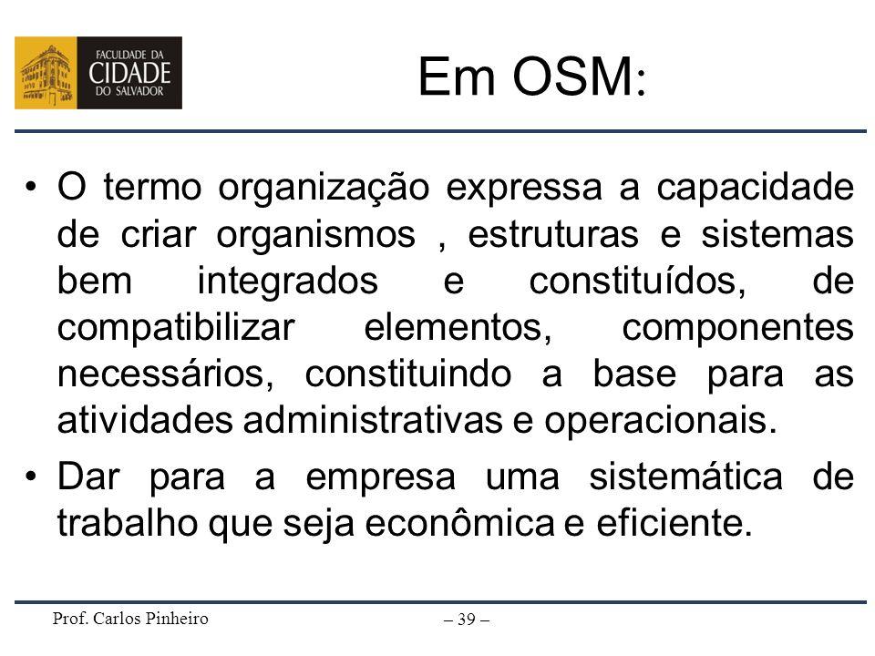 Em OSM: