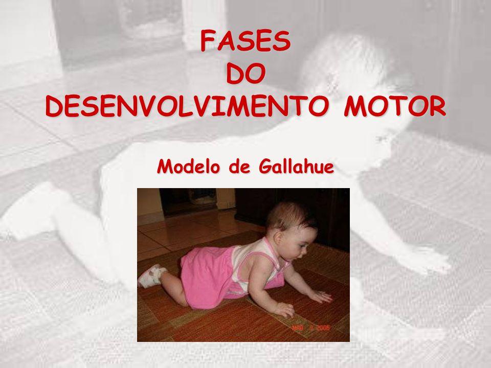 FASES DO DESENVOLVIMENTO MOTOR Modelo de Gallahue