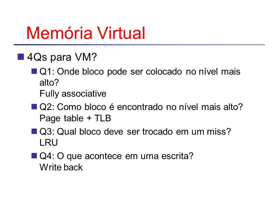 Memória Virtual 4Qs para VM