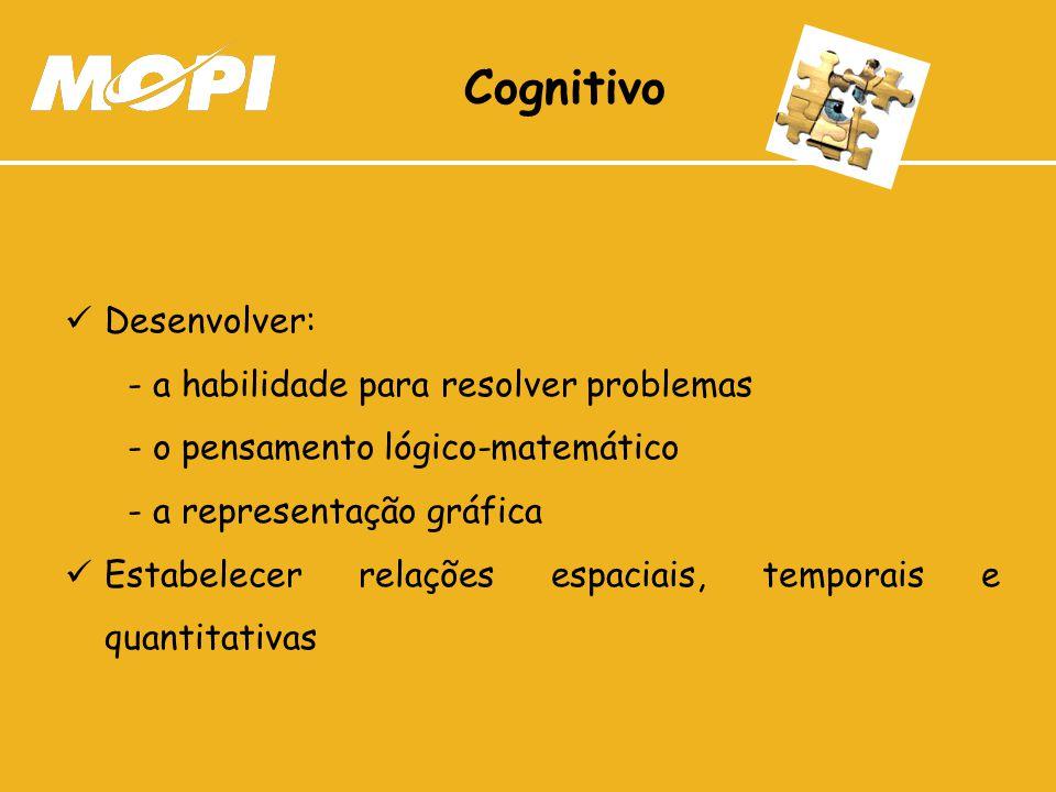 Cognitivo Desenvolver: - a habilidade para resolver problemas