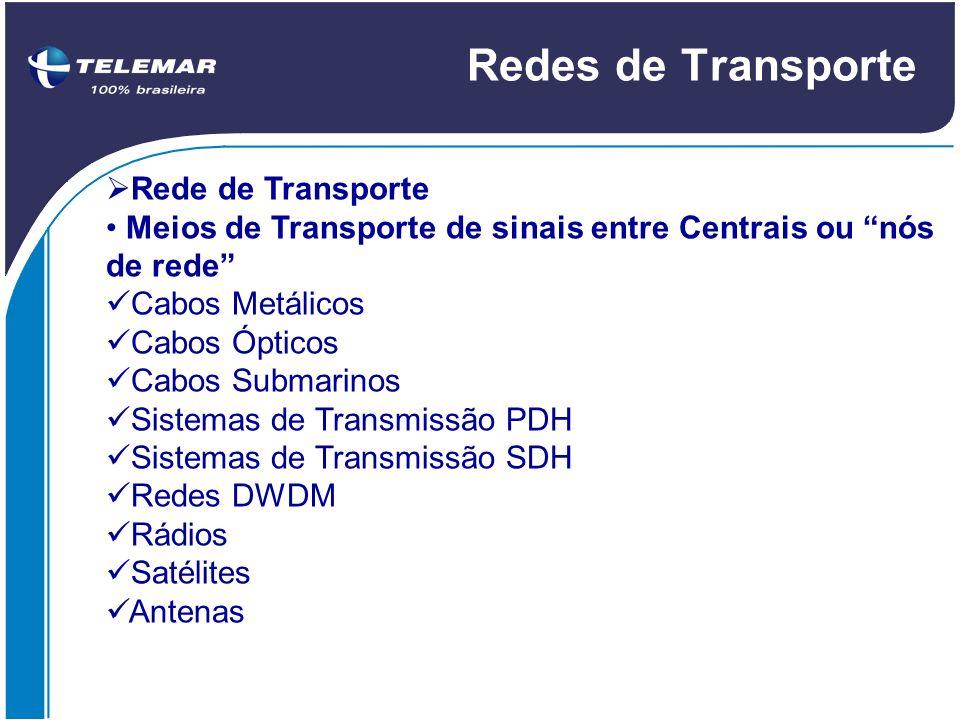 Redes de Transporte Rede de Transporte