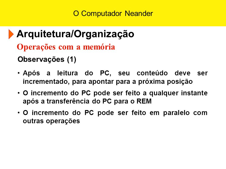 Arquitetura/Organização
