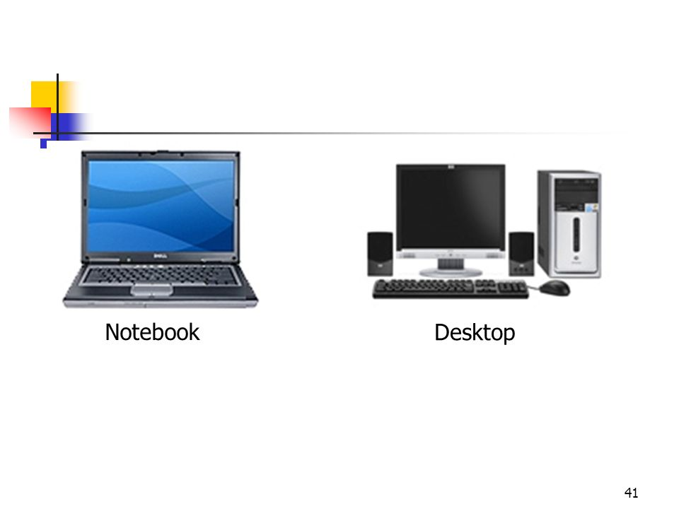 Notebook Desktop