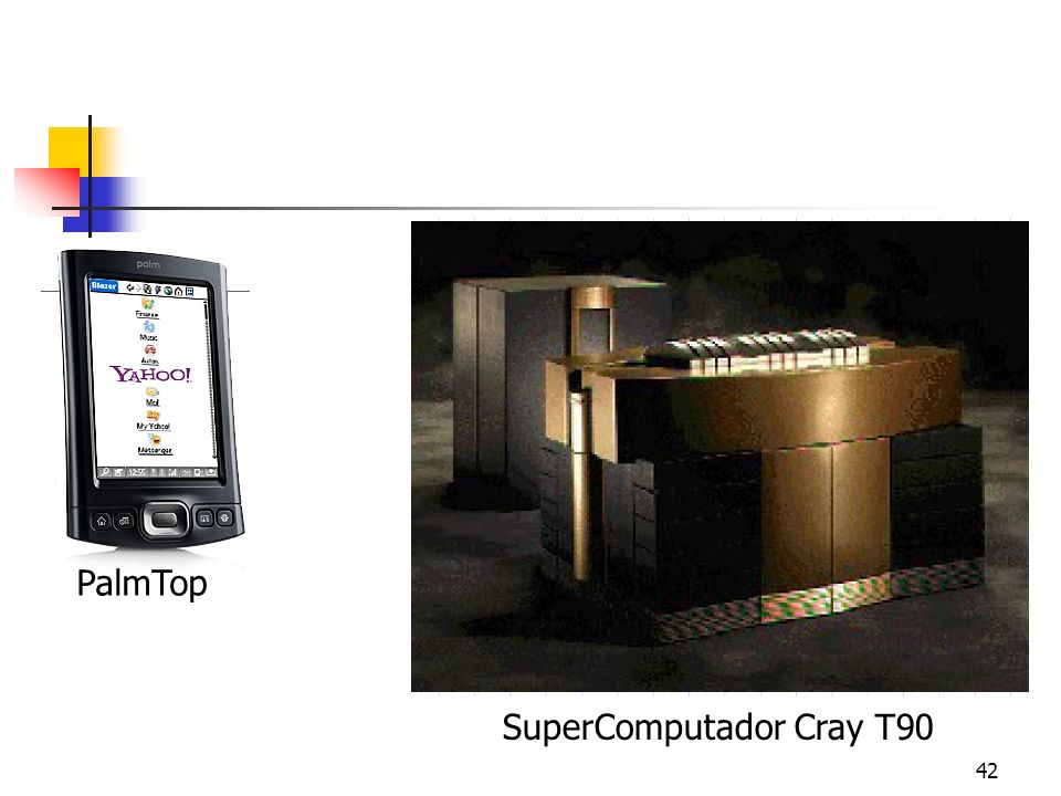PalmTop SuperComputador Cray T90
