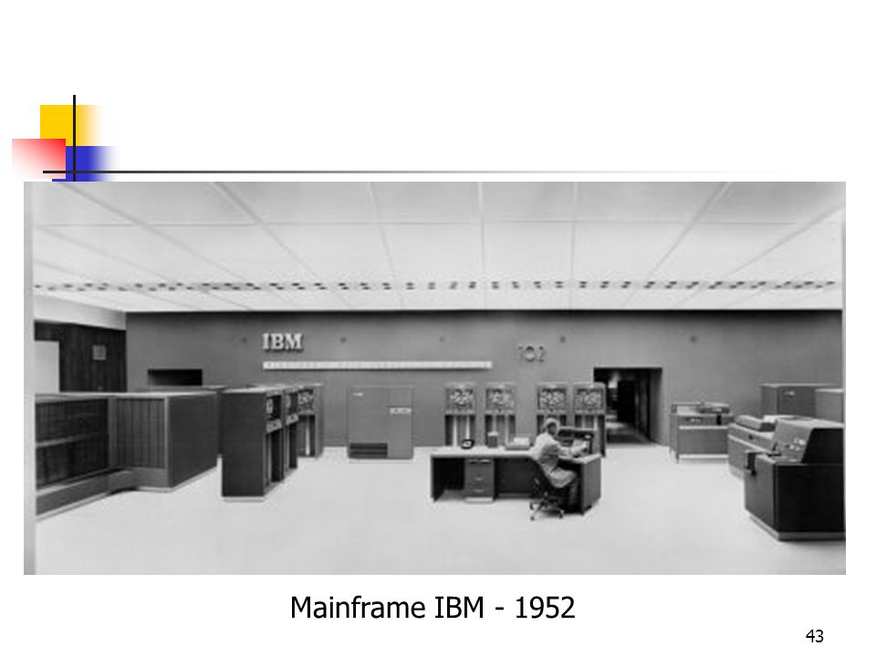Mainframe IBM - 1952