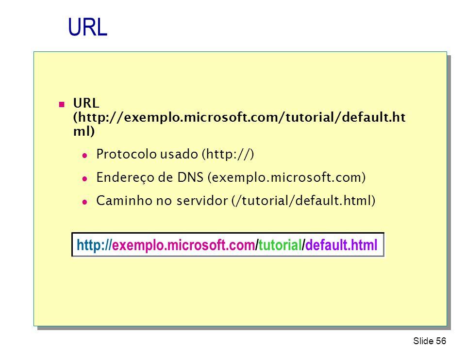 URL http://exemplo.microsoft.com/tutorial/default.html