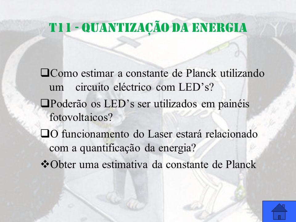 T11 - QUANTIZAÇÃO DA ENERGIA