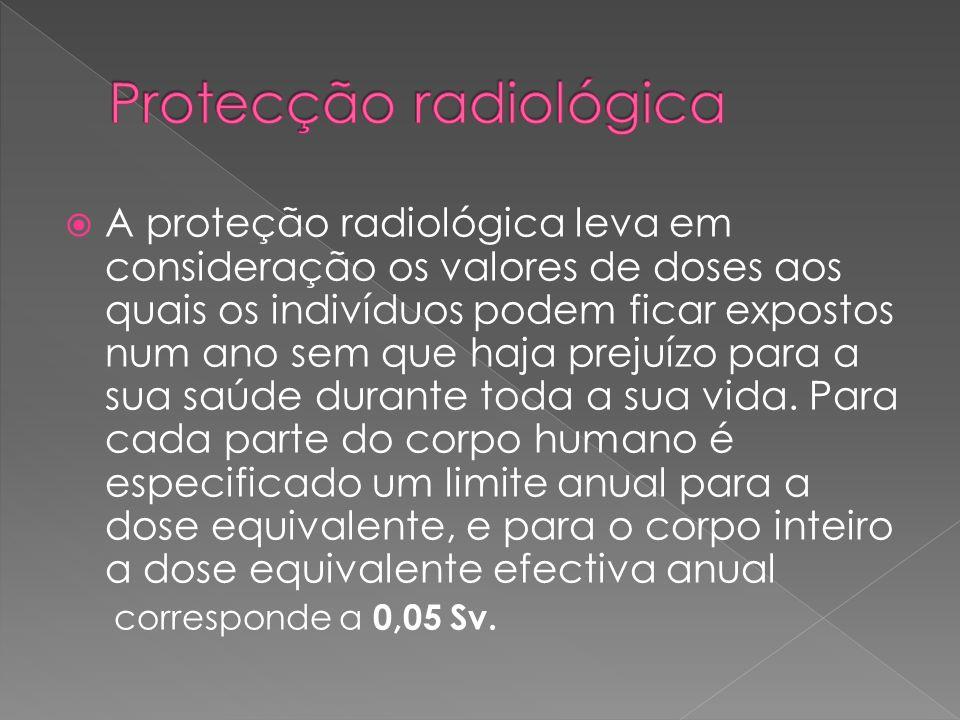 Protecção radiológica