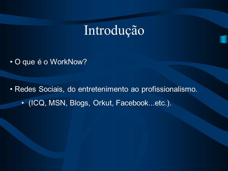 Introdução O que é o WorkNow