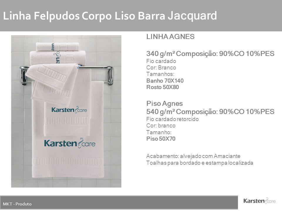 Linha Felpudos Corpo Liso Barra Jacquard