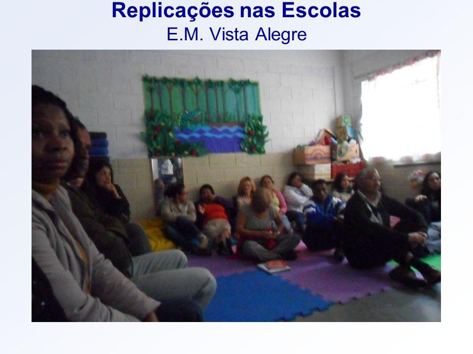 Replicações nas Escolas E.M. Vista Alegre