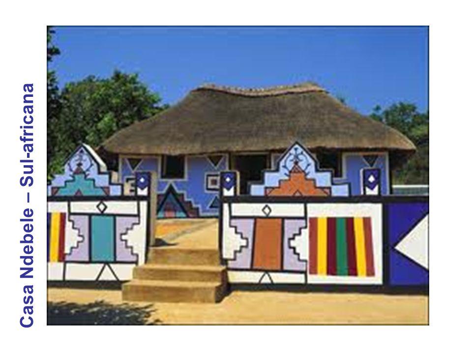 Casa Ndebele – Sul-africana