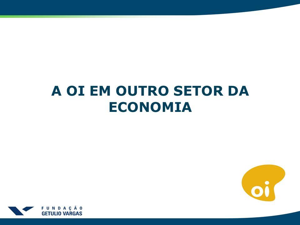 A OI EM OUTROS SETOR DA ECONOMIA