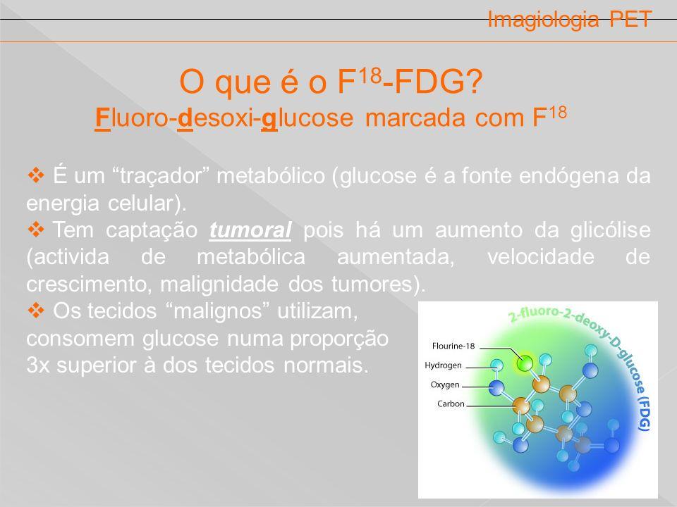 Fluoro-desoxi-glucose marcada com F18