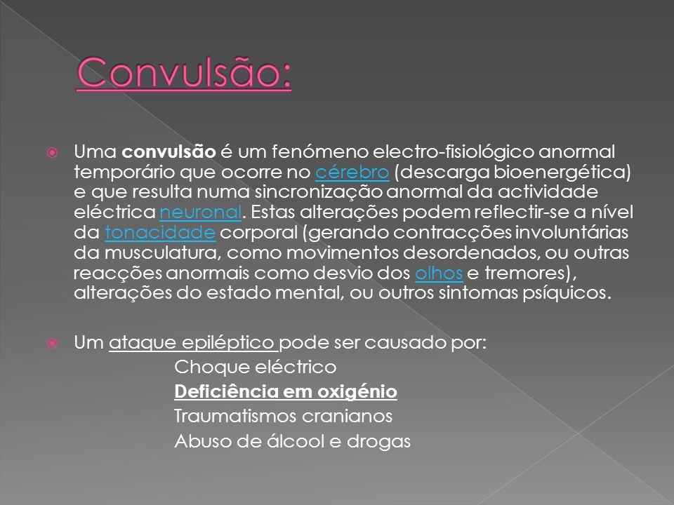 Convulsão: