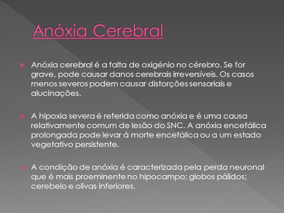 Anóxia Cerebral