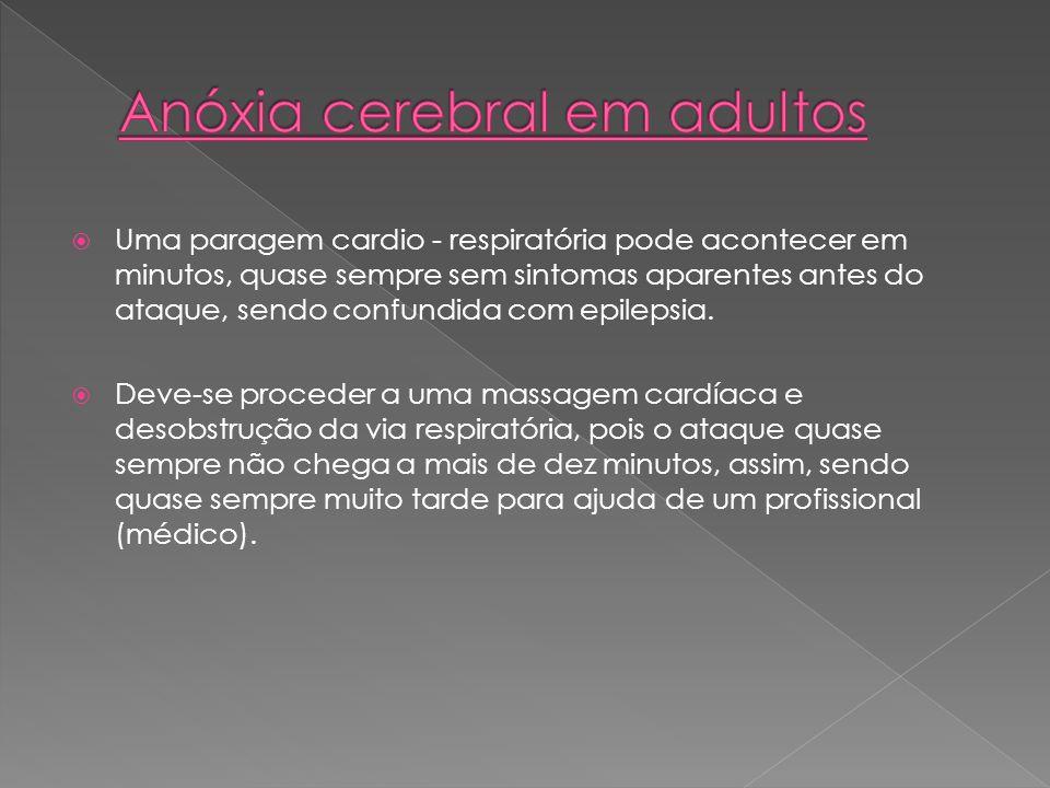 Anóxia cerebral em adultos