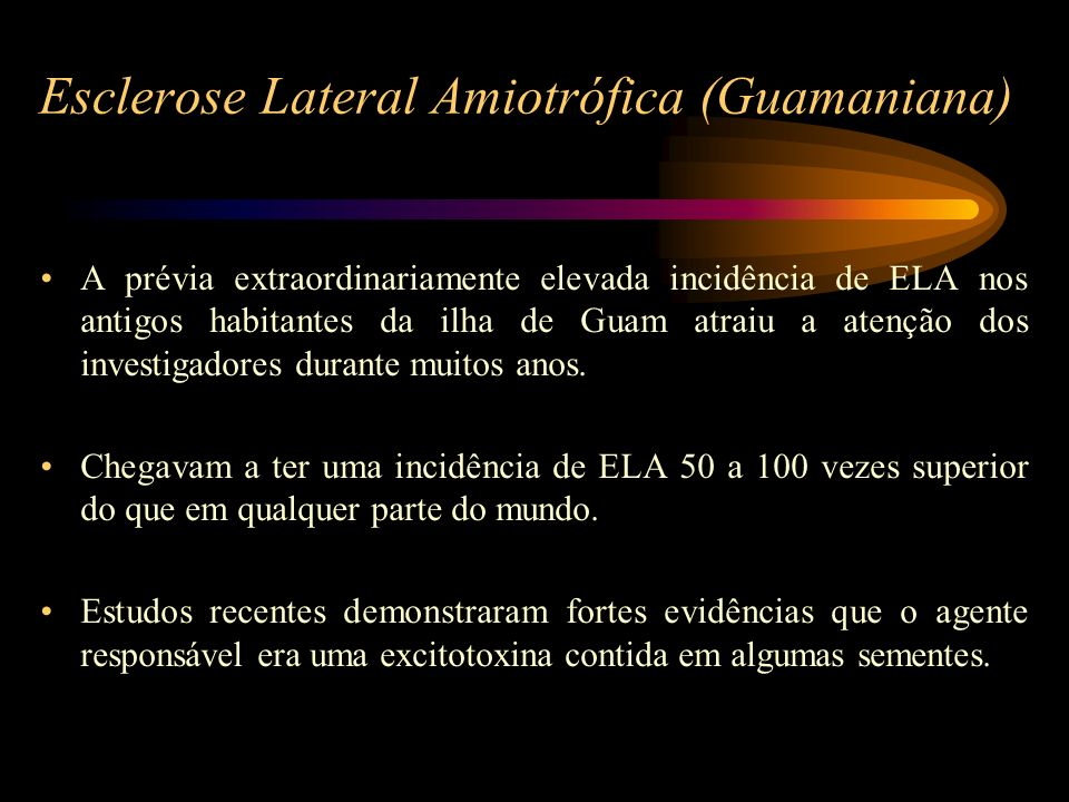 Esclerose Lateral Amiotrófica (Guamaniana)