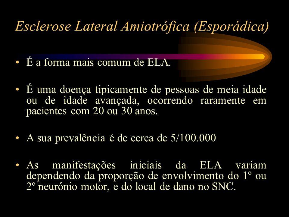 Esclerose Lateral Amiotrófica (Esporádica)