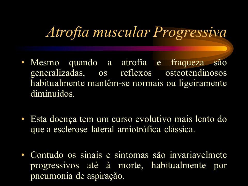 Atrofia muscular Progressiva