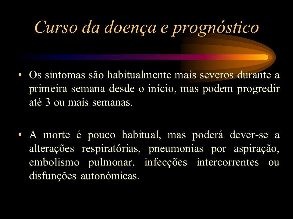 Curso da doença e prognóstico