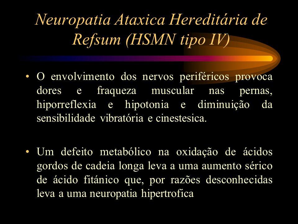 Neuropatia Ataxica Hereditária de Refsum (HSMN tipo IV)