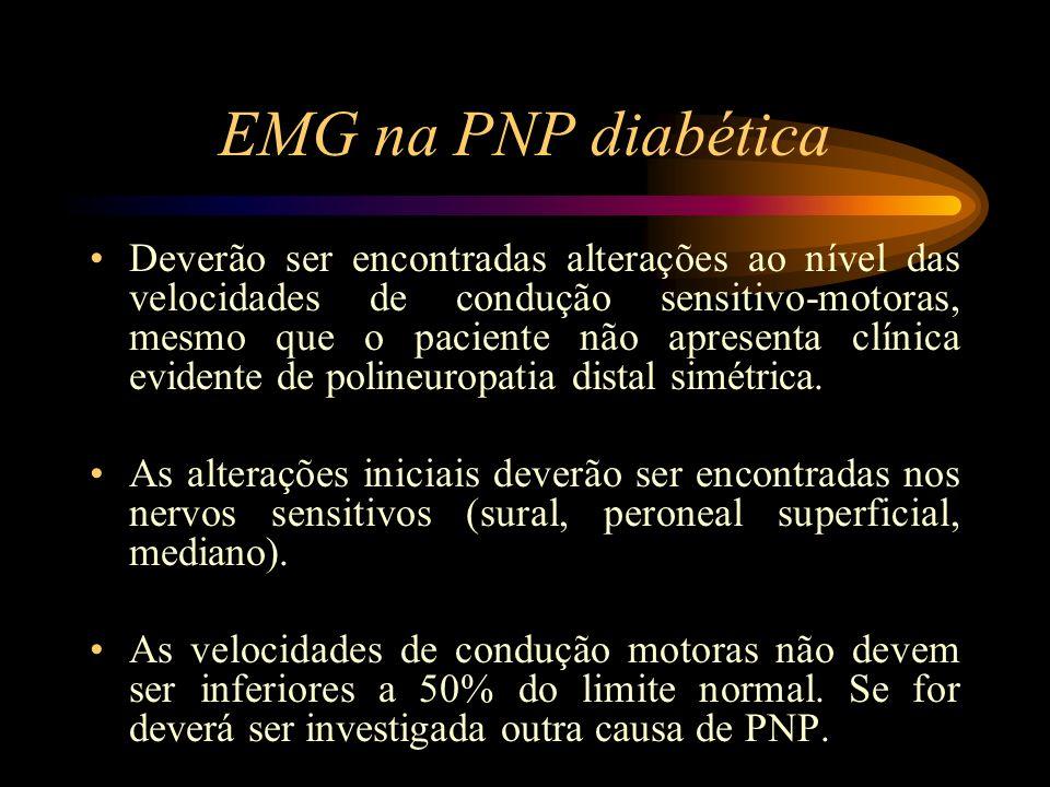 EMG na PNP diabética