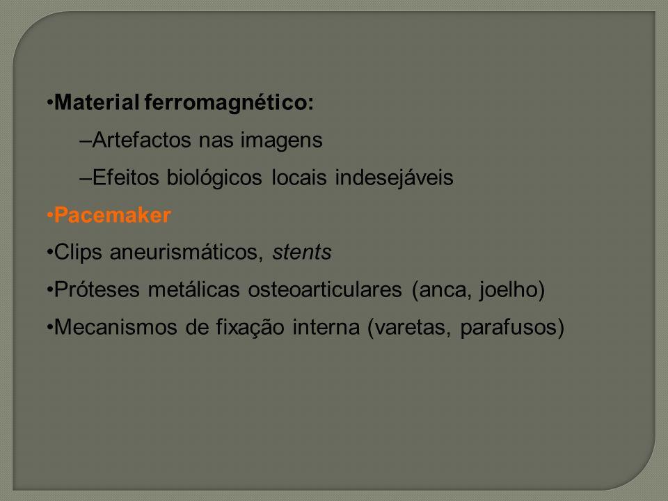 Material ferromagnético: