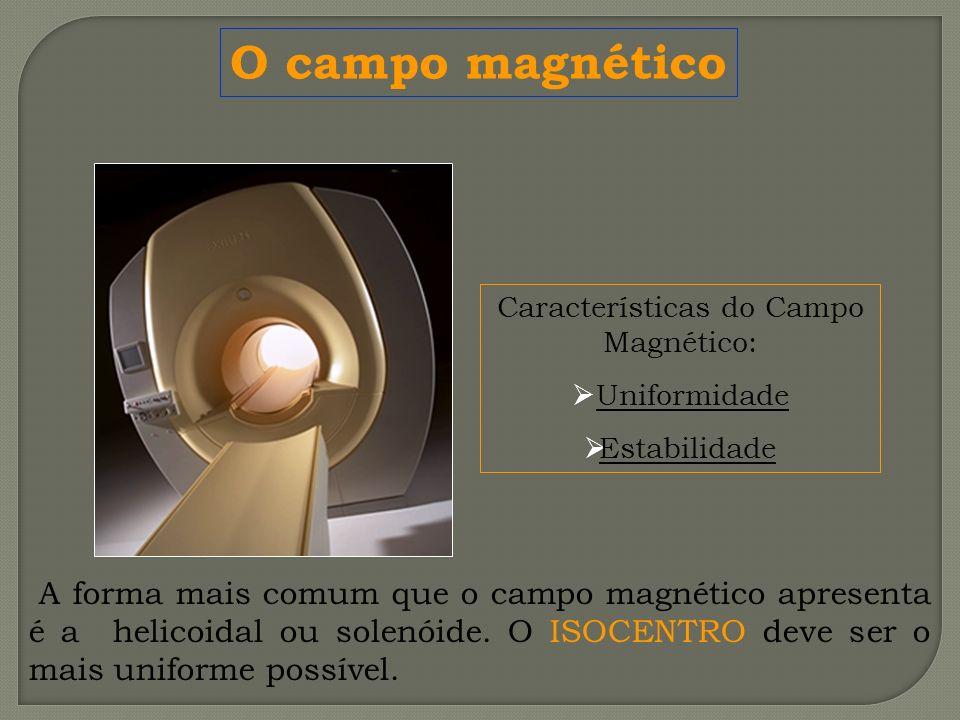 Características do Campo Magnético: