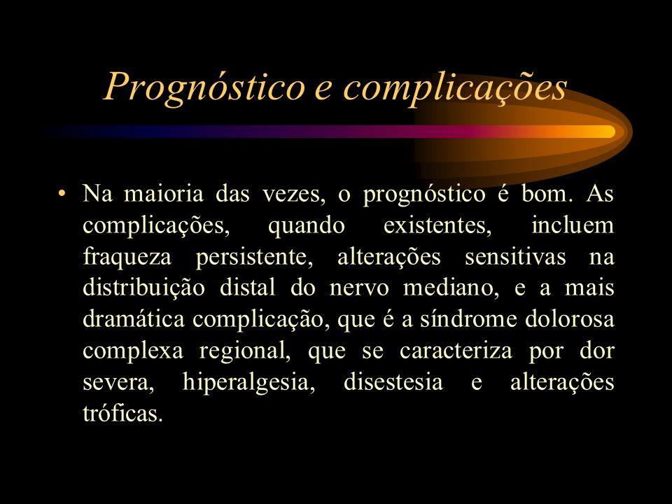Prognóstico e complicações