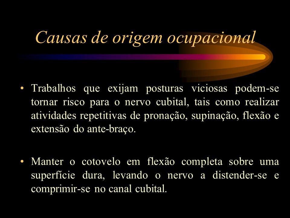 Causas de origem ocupacional