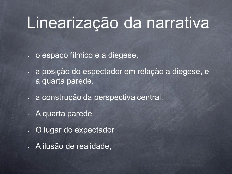 Linearização da narrativa