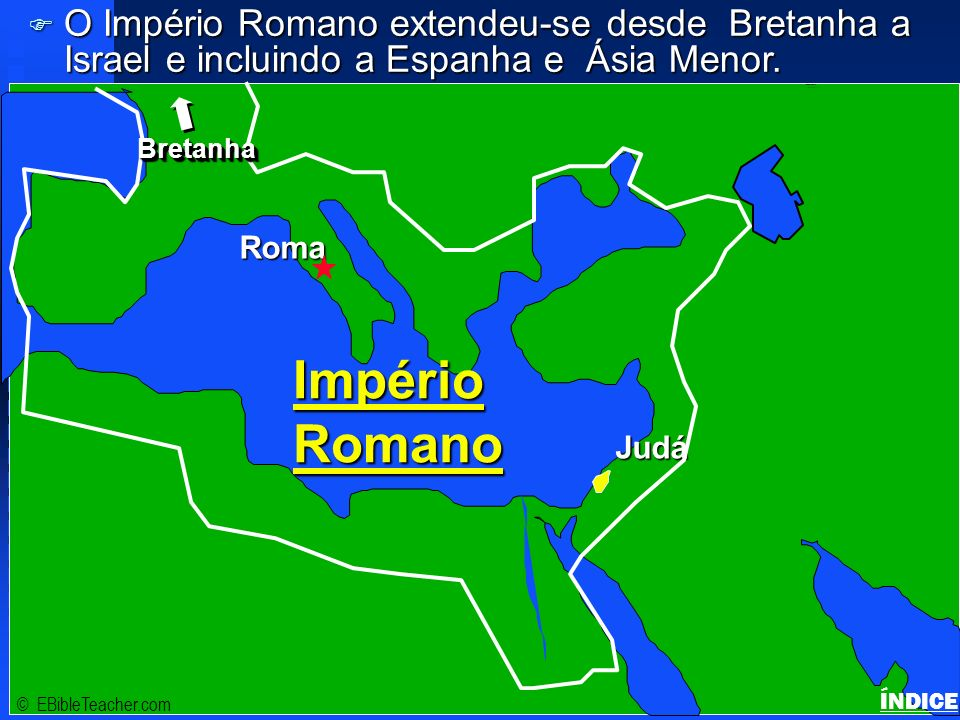 Click to add title Império Romano Click to add text Israel