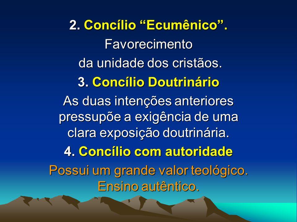 4. Concílio com autoridade