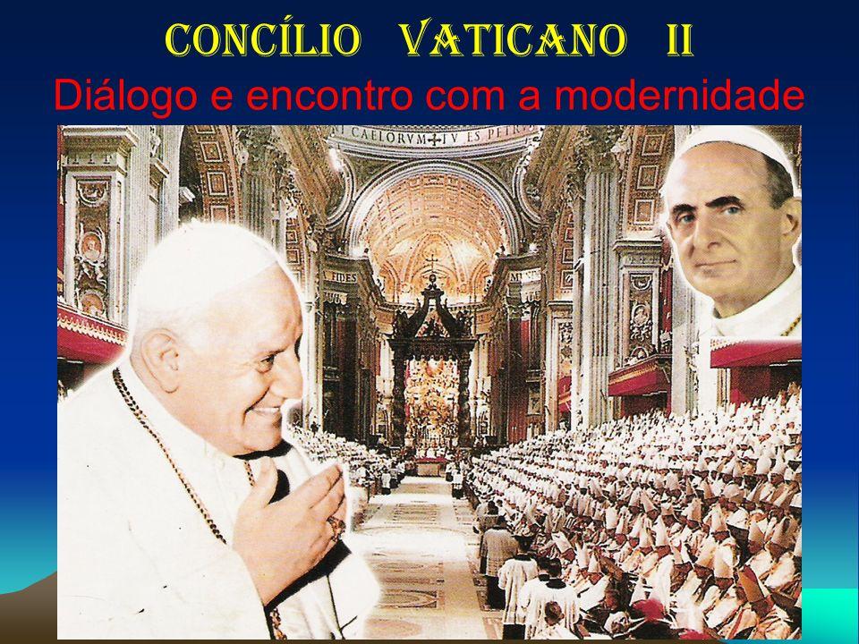 Concílio Vaticano II Diálogo e encontro com a modernidade