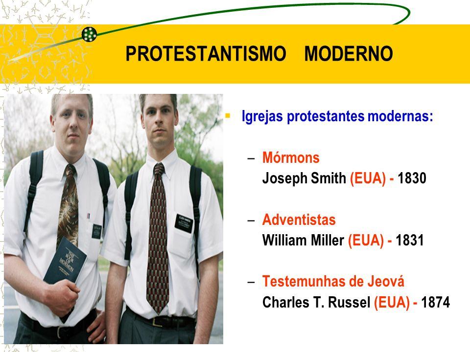 PROTESTANTISMO MODERNO