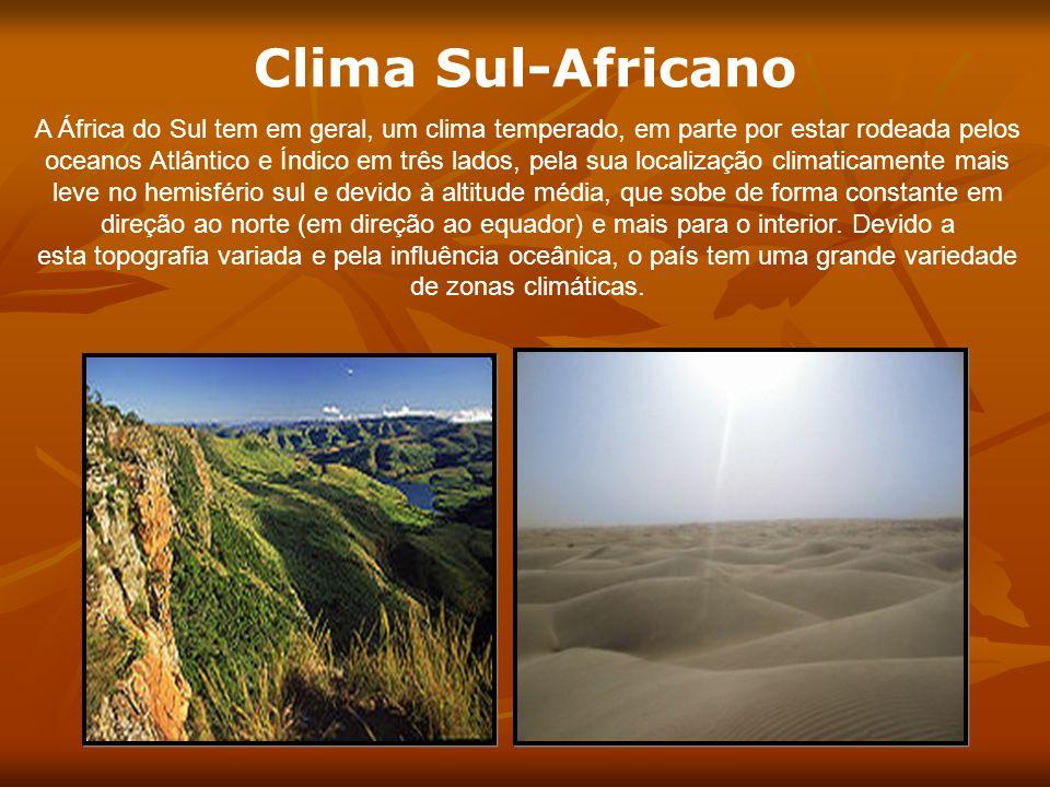 Clima Sul-Africano