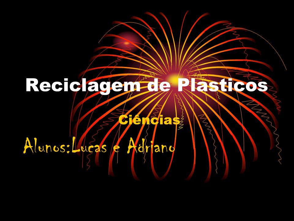 Reciclagem de Plasticos