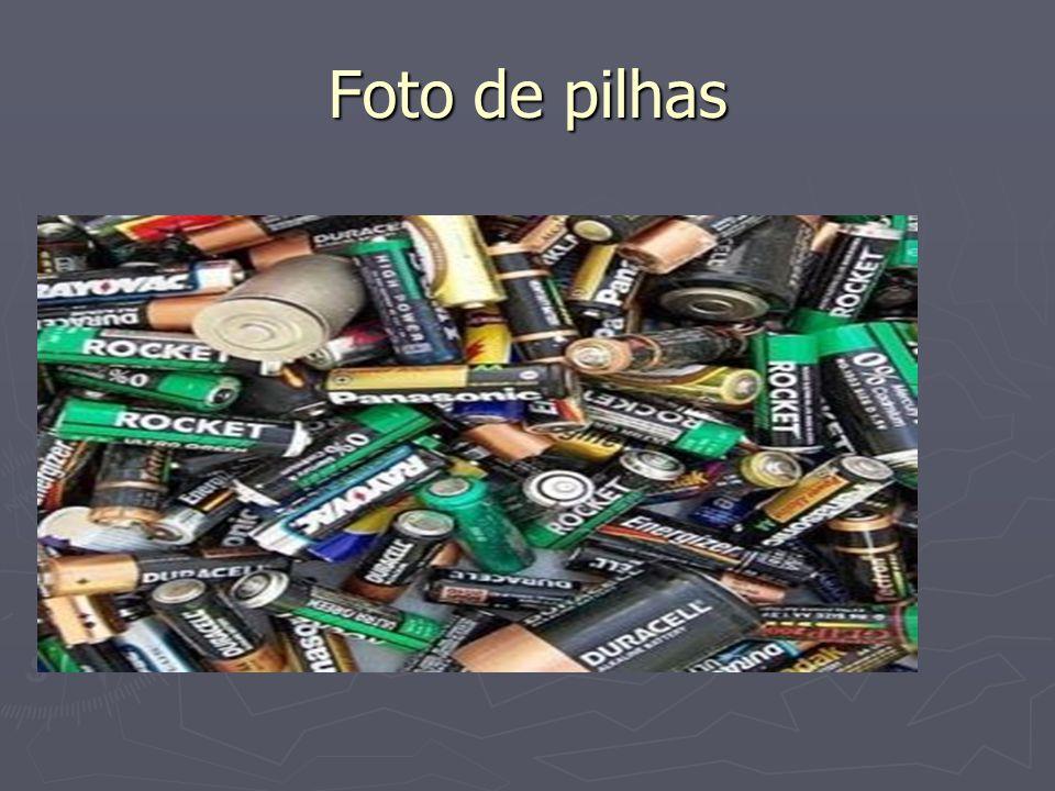 Foto de pilhas