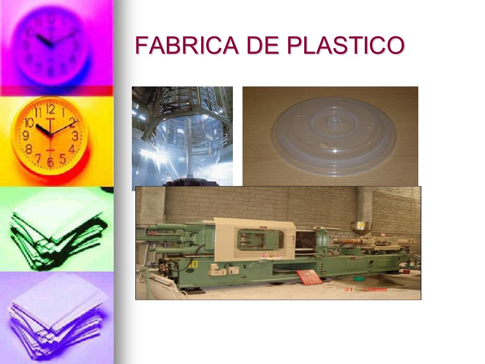 FABRICA DE PLASTICO