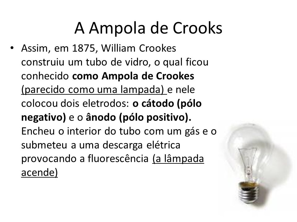 A Ampola de Crooks